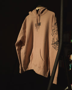 (DUSTY PINK HEAVYWEIGHT) SENKU x Project Mori Hoodie
