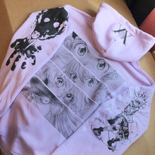 Load image into Gallery viewer, HXH Anger x and x Light Hoodie (LAVENDER)