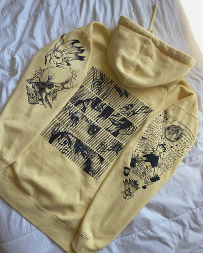 (LIGHT YELLOW) SENKU x Project Mori Hoodie