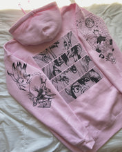 Load image into Gallery viewer, (LIGHT PINK) SENKU x Project Mori Hoodie