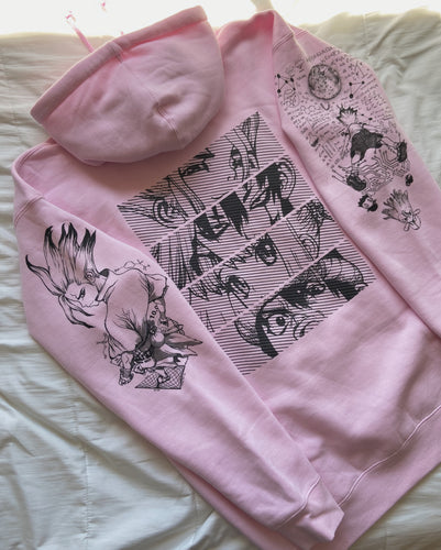 (LIGHT PINK) SENKU x Project Mori Hoodie