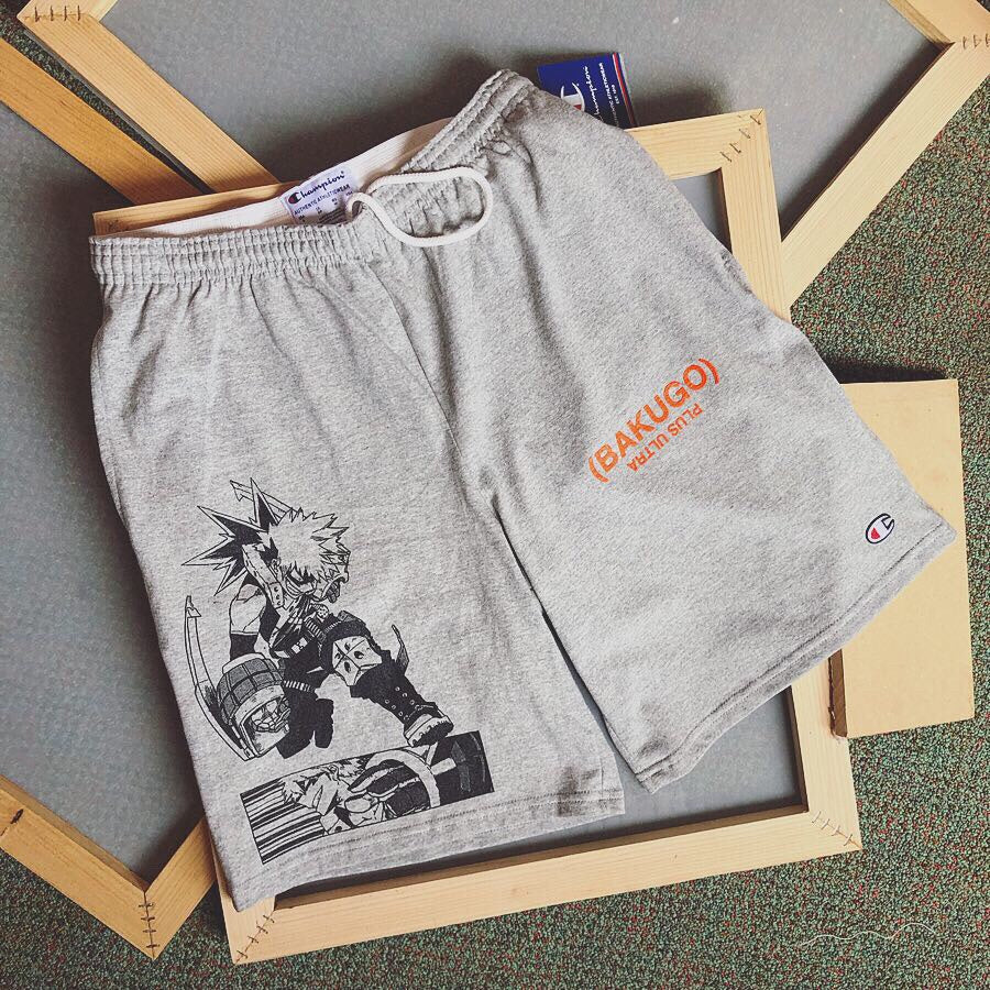 My Hero Academia Bakugo x champion shorts