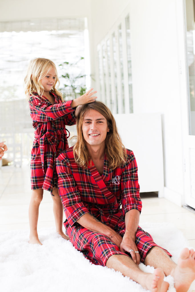 Flannel Robes Groom