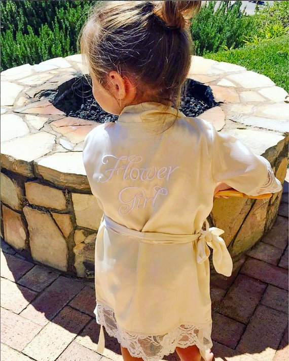 Flower Girl Dresses Robe