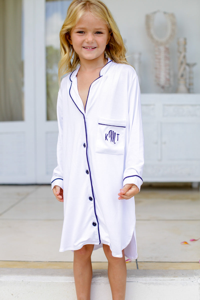 Lily Jersey Flower Girl Sleepshirt
