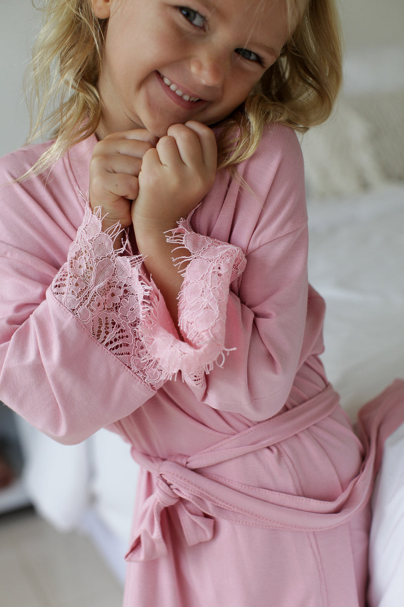 Sophia Jersey Flower Girl Robe