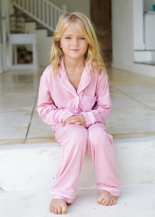 Jaime Jersey Flower Girl Pajamas