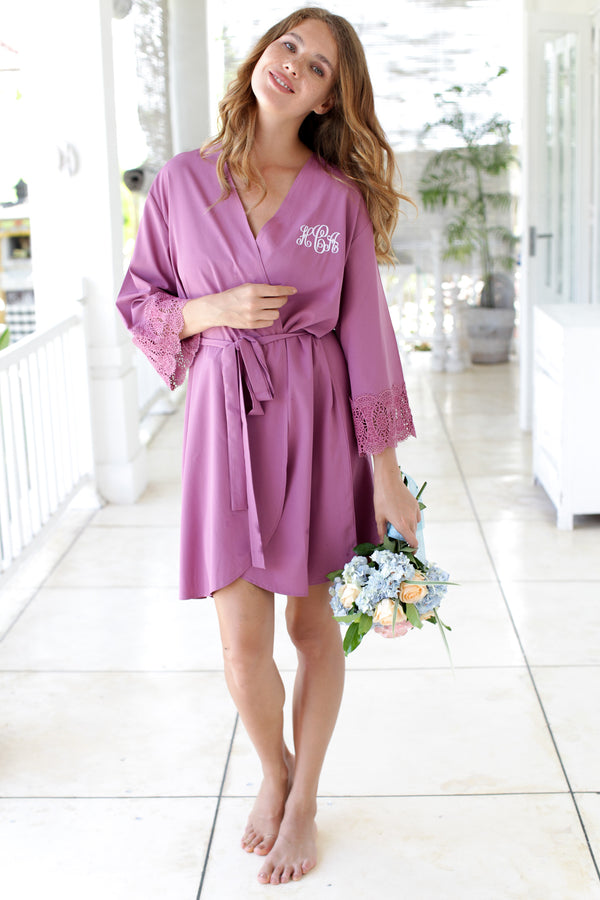 Bridesmaid Robes, Bridesmaid Lace Robes, Lace Bridal Robes, Bridal Party Robes, Bridal Party Robes, Bridesmaid Gifts, Bridesmaid Robe