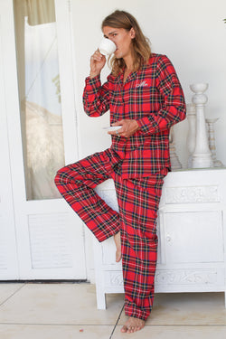Vancouver Men's Flannel Pajama Set
