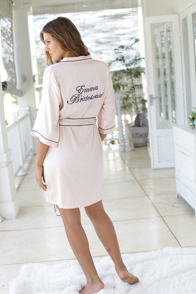 Eleanor Satin Robe