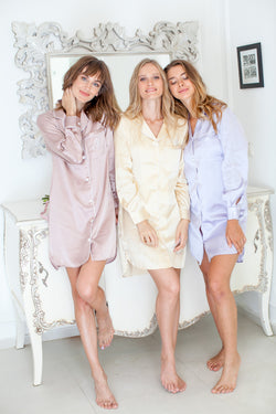 Emily Satin Sleepshirt