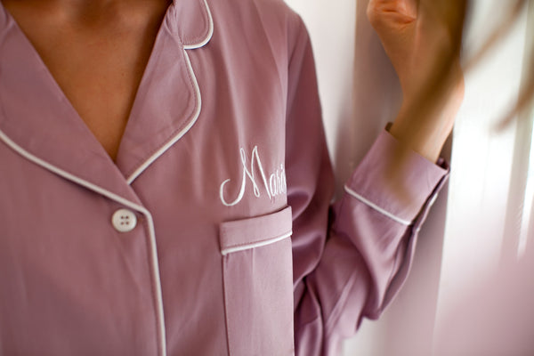 Sleep Shirt // Pyjama Shirt// Bridesmaid Pajama // Bridesmaid Gift //Bridal Gift //Cotton pjs// Bridesmaid Shirt // Bridesmaid Shirt Set