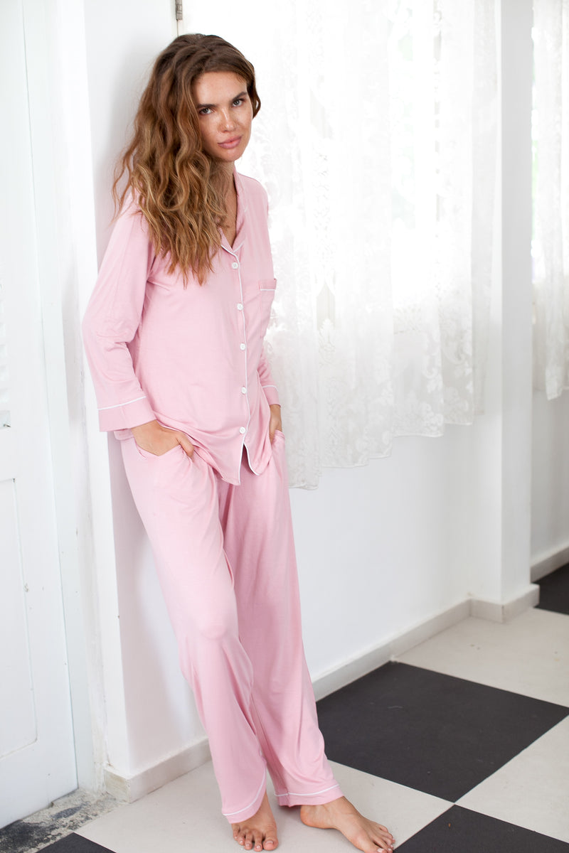 Pajama Set // Pyjama Set // Bridesmaid Pajama // Bridesmaid Gift //Bridal Gift //Cotton pjs// Bridesmaid PJs // Bridal pjs // Bridal pajamas