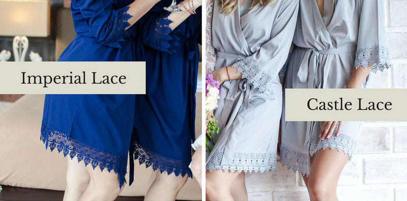 Diana Robe with or without Lace