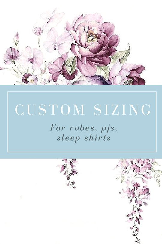 Custom Sizing Add On