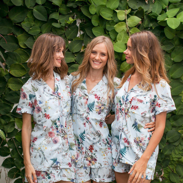 Bridal // Bridesmaid PJs // Bridesmaid Gift // Pyjamas // Bridal PJS // Pajama Shorts // Bridesmaid Pajamas // Bridal Pajamas // Bridesmaid