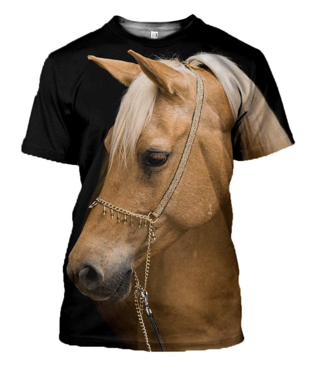 Blondie 3D Horse Printed T-Shirt