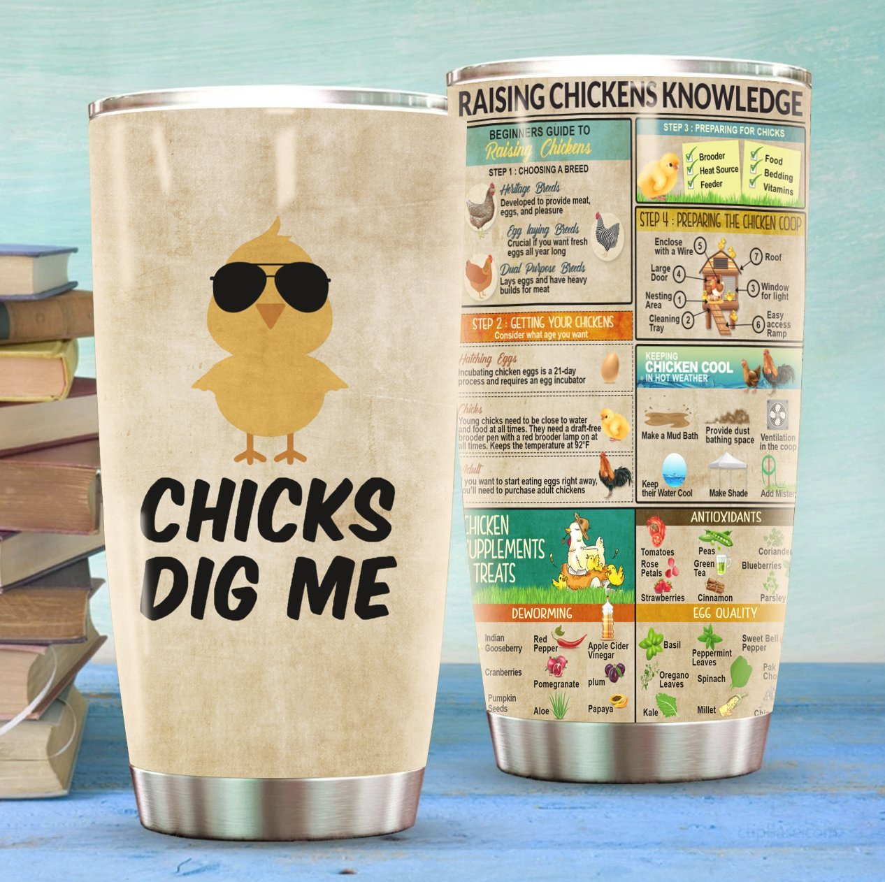 Chicks Dig Me Stainless Steel Tumbler