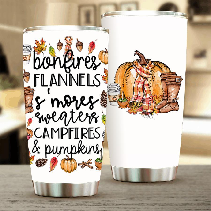 It's Fall Ya'll Stainless Steel Tumbler