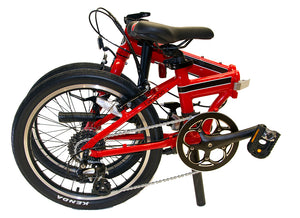 Unfolding your EuroMini Bike is Extremely Easy!