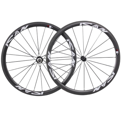 38mm Carbon Clincher Wheelset - Shipping Included