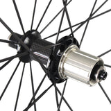 38mm Road Bike Clincher Wheelset Straight Pull Pillar Spokes - Shipping Included