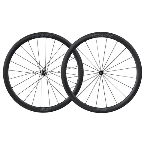 40mm Straight Pull Wheelset Fast & Light Series - Shipping Included