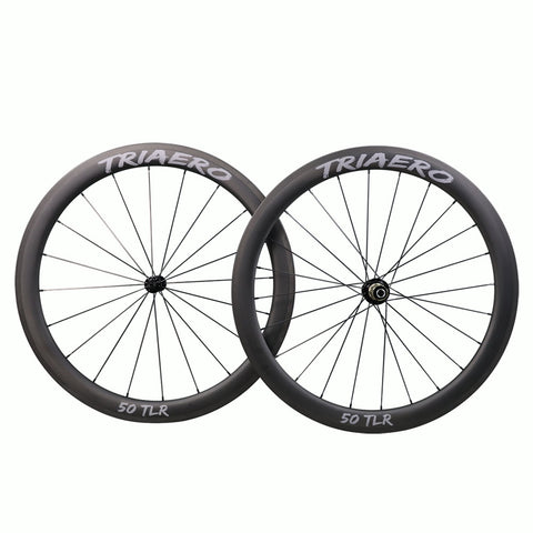 TRIAERO Road Bike Wheelset 50mm  - Shipping Included