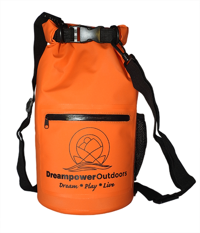 10L Drybag - Orange - Dreampower Outdoors