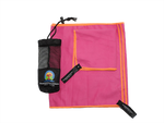 Microfiber Towel Set (2) in a Mesh Carry Bag