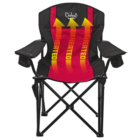 Chaheati Red/Black MAXX Heated Chair