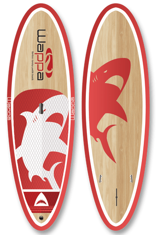 NEW for 2019 - Mako Bamboo Paddle Board / SUP