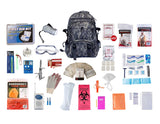 1 Person Elite Survival Kit (72+ Hours) - Camo Backpack