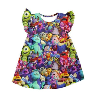 PREORDER Monsters Dress
