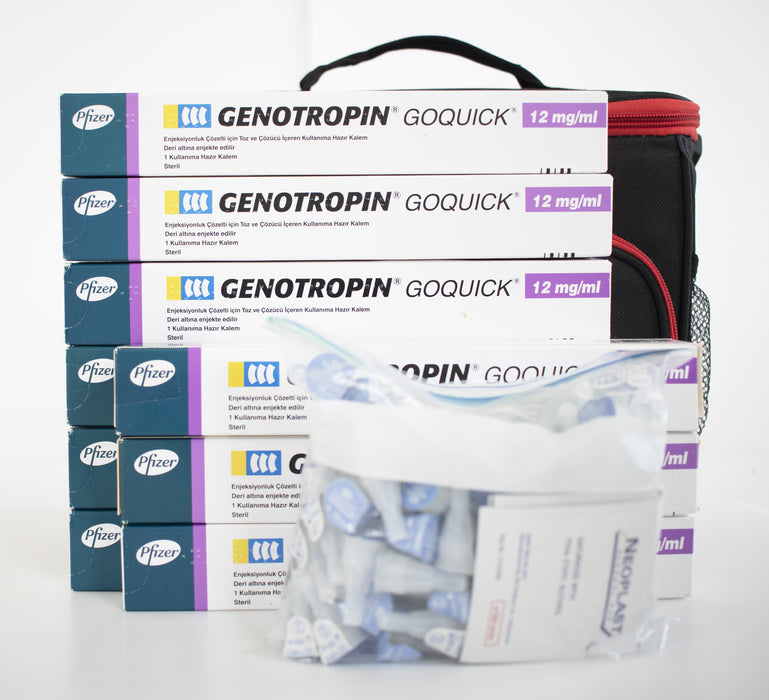 HGH Genotropin GoQuick 12mg 36 IU (Certificate + Medical Prescription FREE!)