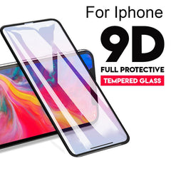 9D Tempered Glass For iPhone