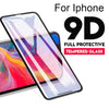 Image of 9D Tempered Glass For iPhone