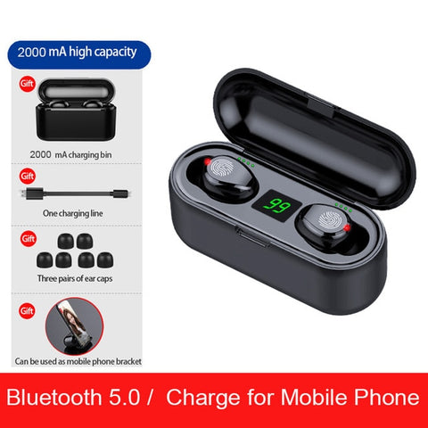 TWS V5.0 Bluetooth Earphones