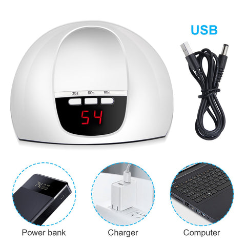 45W LED UV Lamp Nail Dryer