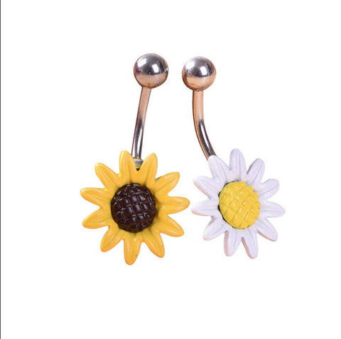 Flower Medical Stainless Steel Body Jewelry