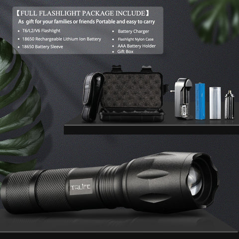 LED Torch Flashlights for Camping