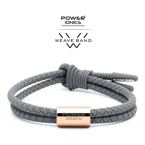 Power Ionics WEAVE BAND Unisex Waterproof Ions and Germanium Sports Fashion Bracelet