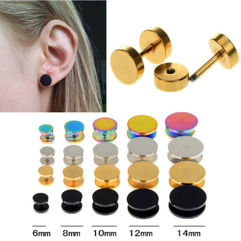 Tunnel Gauges Tapers Stretcher Earrings