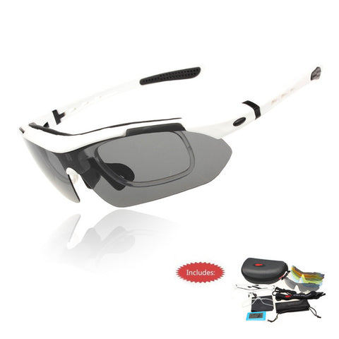 Professional Polarized Cycling Glasses UV 400 With 5 Lens