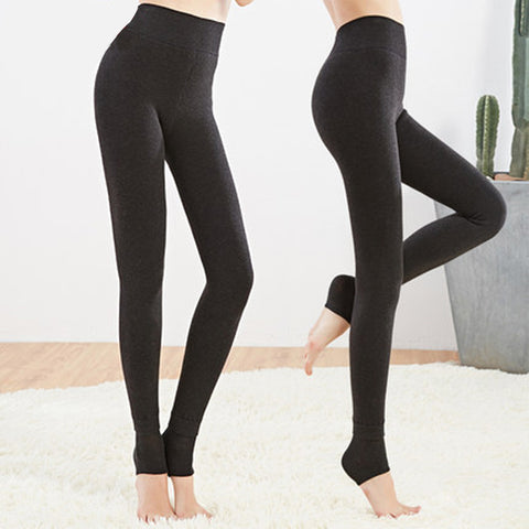 Thick Warm Leggings For Winter