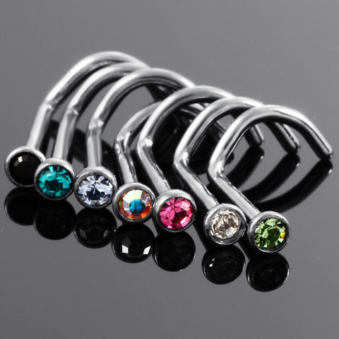 Nose Stud Cartilage Piercing Nariz Body Jewelry