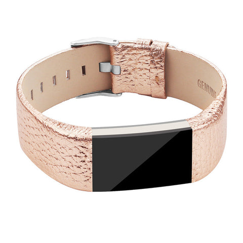Genuine Leather Strap For Fitbit Charge 2
