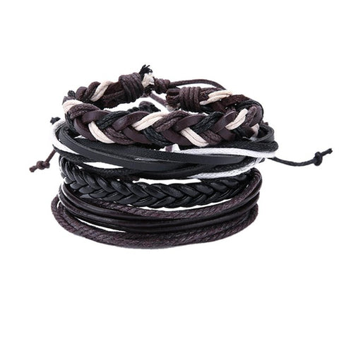 Men Leather Bracelet