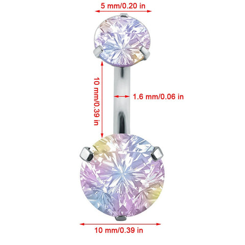 Crystal Belly Ring