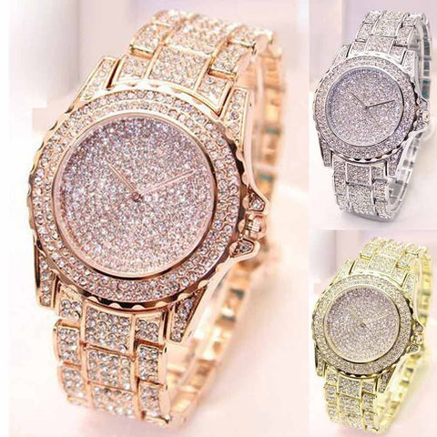 Men Iced Out Watch